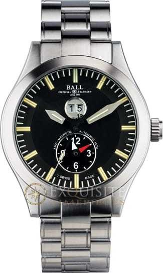 Ball Watch Engineer Master II Aviator Dual Time GM2086C-SJ-BK