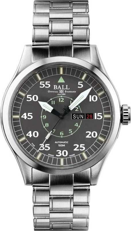 Ball Watch Engineer Master II Aviator NM1080C-S5J-GY
