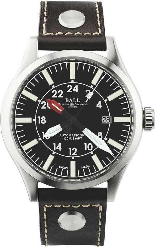 Ball Watch Engineer Master II Aviator GMTGM1086C-LJ-BK