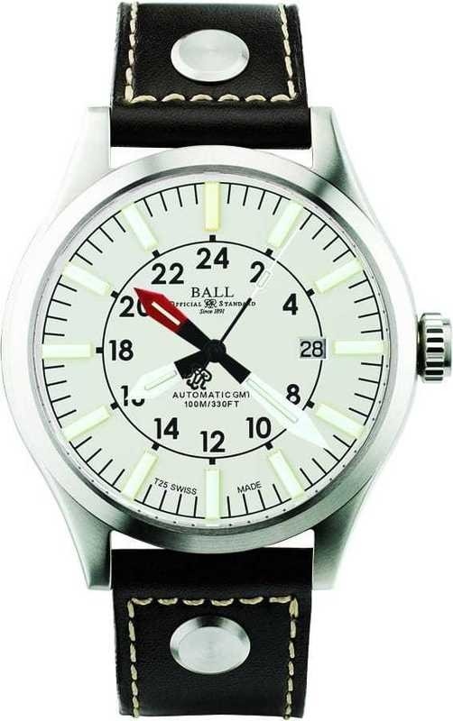 Ball Watch Engineer Master II Aviator GMT White Dial GM1086C-LJ-WH