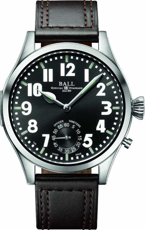 Ball Watch Engineer Master II Officer NM2038D-L1-BKWH
