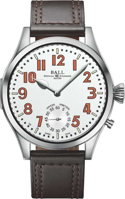 Ball Watch Engineer Master II Officer White Dial NM2038D-L1-WHOR