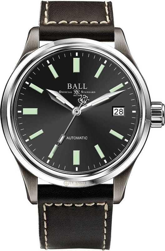 Ball Watch Trainmaster Titanium 38mm NM1038D-L5J-BK