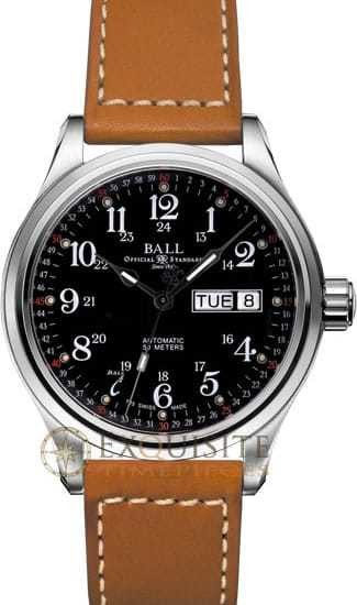 Ball Watch Engineer NEW Trainmaster 60 Seconds NM1058D-L3J-BK