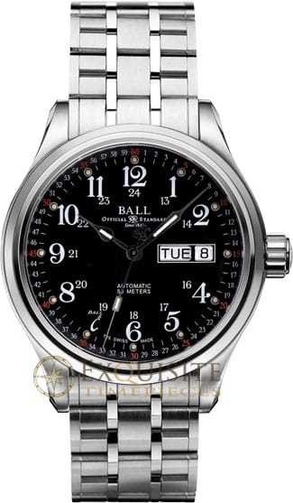 Ball Watch Engineer NEW Trainmaster 60 Seconds NM1058D-S3J-BK