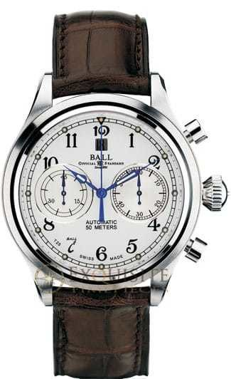 Ball Watch Trainmaster Cannonball Chronograph CM1052D-L1J-WH