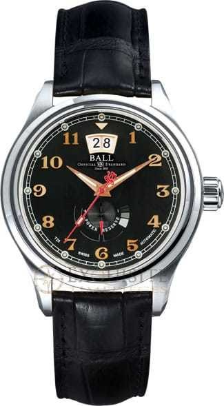 Ball Watch Trainmaster Cleveland Exp Power Reserve PM1058D-L1J-BK