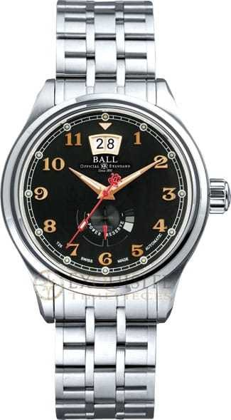 Ball Watch Trainmaster Cleveland Exp Power Reserve PM1058D-SJ-BK