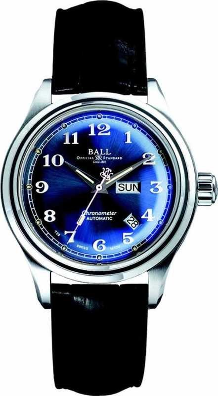 Ball Watch Trainmaster Cleveland Express COSC NM1058D-LCJ-BE