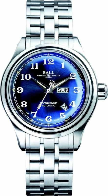 Ball Watch Trainmaster Cleveland Express COSC NM1058D-SCJ-BE