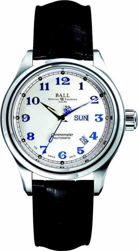 Ball Watch Trainmaster Cleveland Express COSC NM1058D-LCJ-SL
