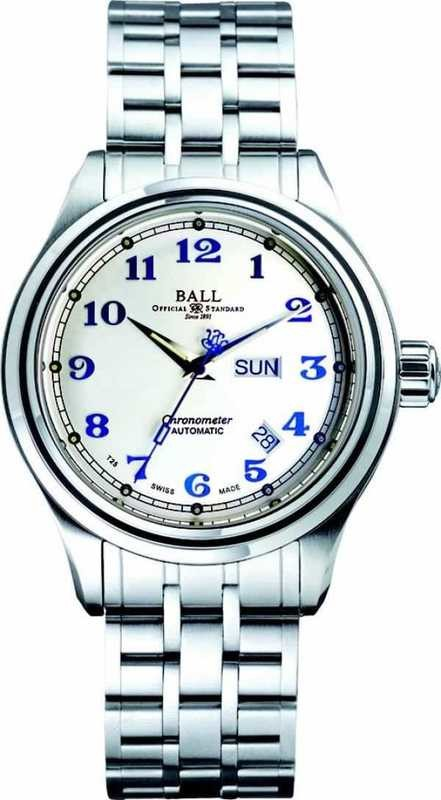 Ball Watch Trainmaster Cleveland Express COSC NM1058D-SCJ-SL