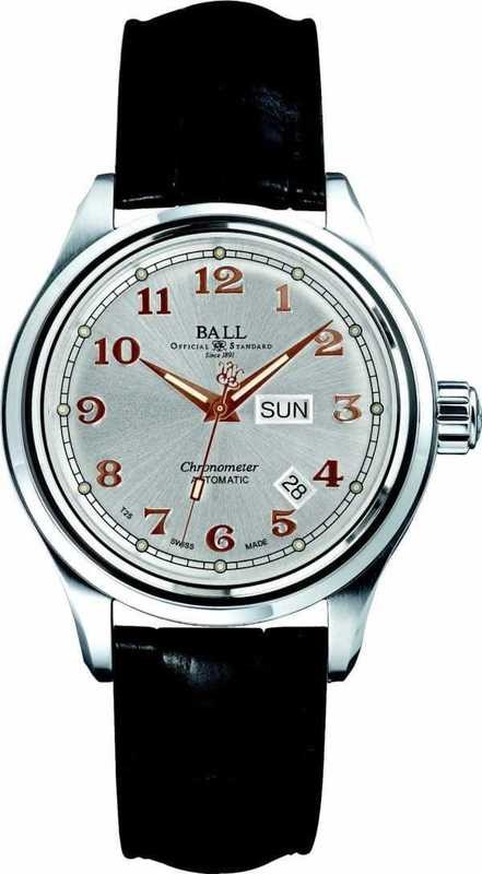 Ball Watch Trainmaster Cleveland Express COSC NM1058D-LCJ-SLRG