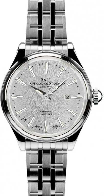 Ball Watch Trainmaster Eternity Lady Steel NL2080D-SJ-SL