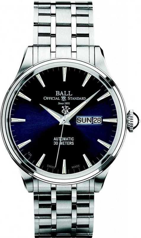 Ball Watch Trainmaster Eternity NM2080D-SJ-BE