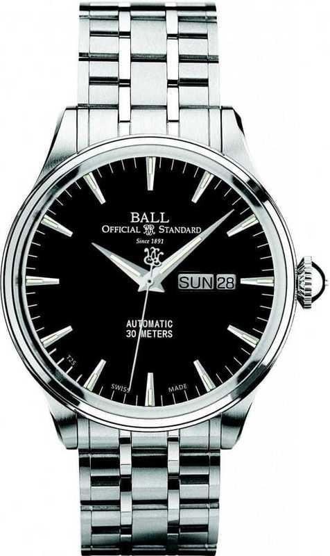 Ball Watch Trainmaster Eternity NM2080D-SJ-BK