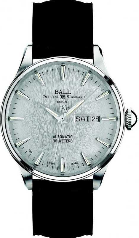 Ball Watch Trainmaster Eternity NM2080D-LJ-SL
