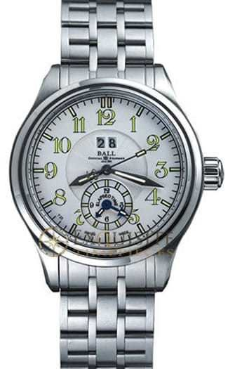 Ball Watch Trainmaster Dual Time GM1056D-SJ-WH