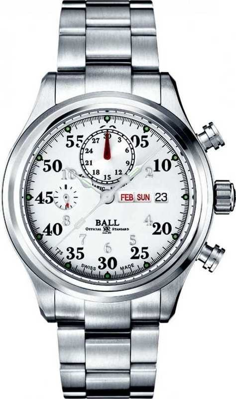 Ball Watch Trainmaster Racer White CM1030D-S1J-WH