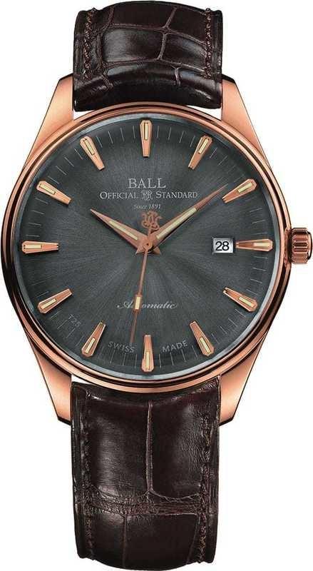 Ball Watch Trainmaster One Hundred Twenty NM2888D-PG-LJ-GYGO