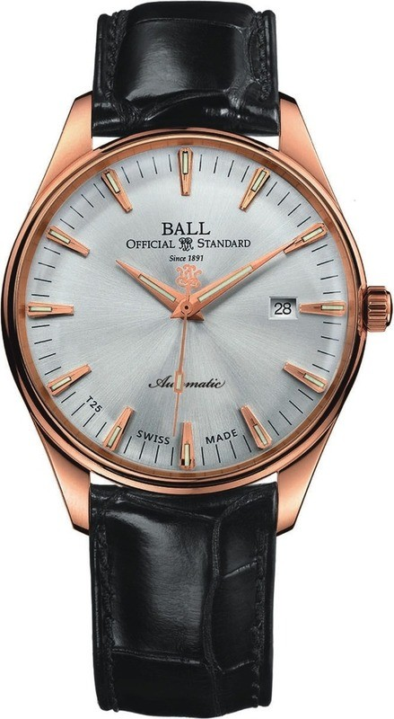 Ball Watch Trainmaster One Hundred Twenty NM2888D-PG-LJ-SLGO