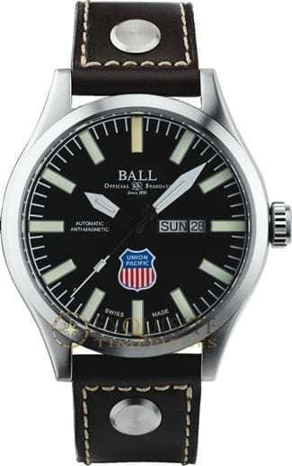 Ball Watch Official Railroad Watch Big Boy NM1080C-L2-BK
