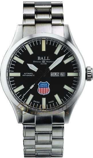 Ball Watch Official Railroad Watch Big Boy NM1080C-S2-BK