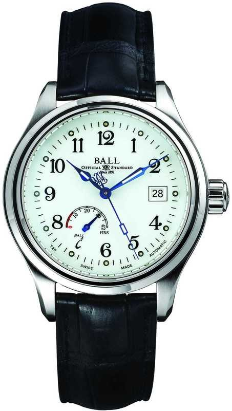 Ball Watch Trainmaster Power Reserve NM1056D-L1FJ-WH