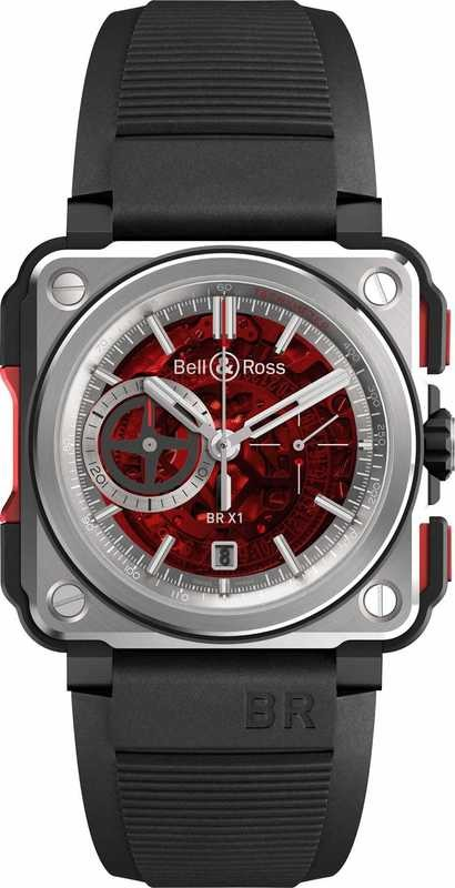 Bell & Ross BR-X1 Red BRX1-CE-TI-RED
