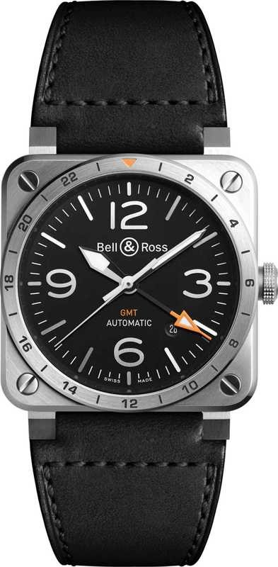 Bell & Ross BR03-93 GMT S BR0393-GMT-S