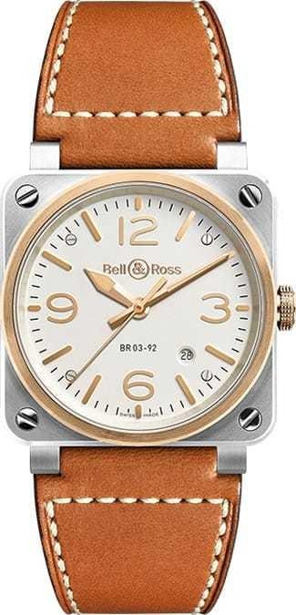 Bell & Ross BR 03-92 Bicolor BR0392-ST-PG-SCA