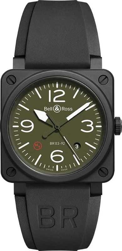 Bell & Ross BR 03-92 Military Type BR-03-92-MIL-CE