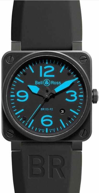 Bell & Ross BR03-92 Blue BR03-92Blue