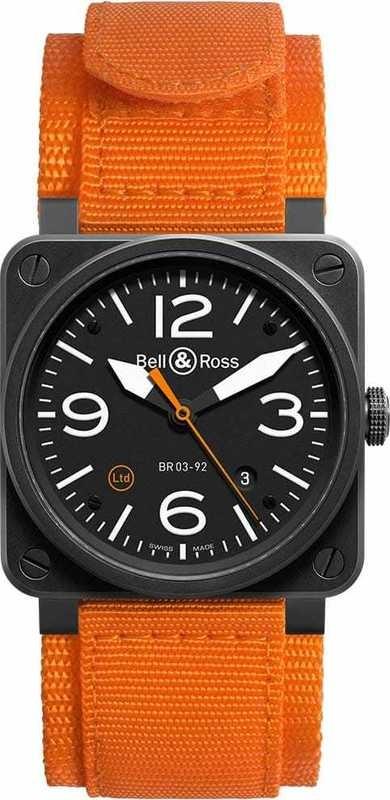 Bell & Ross BR 03-92 Carbon Orange BR0392-O-CA