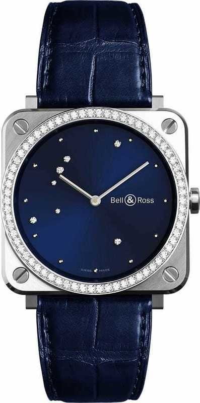 Bell & Ross BRS Diamond Eagle Diamonds BRS-EA-LGD-SCR