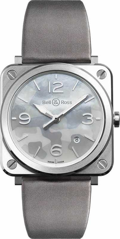 Bell & Ross BR S Grey Camouflage BRS-CAMO-ST