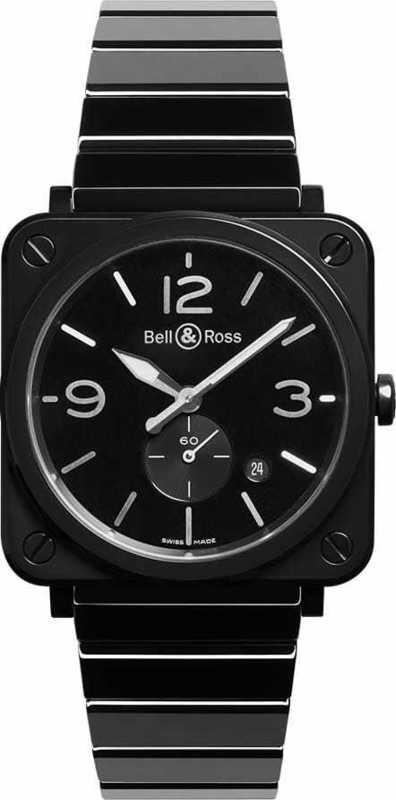 Bell & Ross BR S Black Ceramic BRS-BL-CES