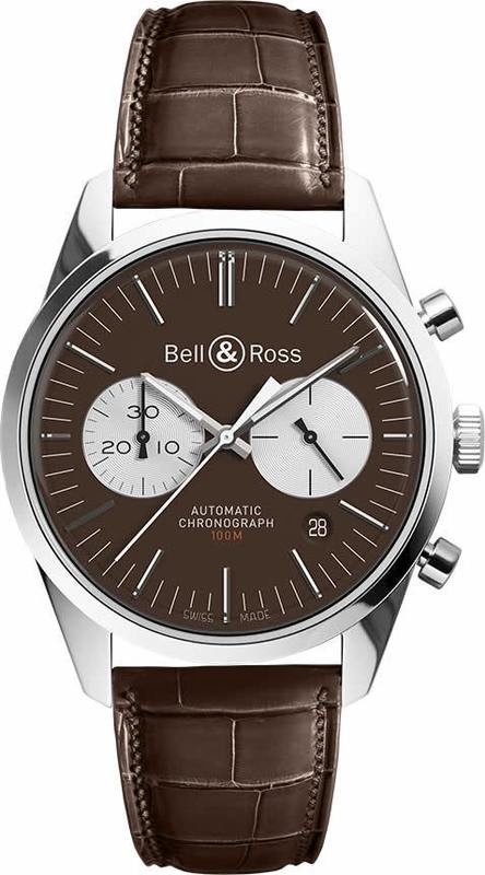 Bell & Ross BR 126 Officer Brown Limited Edition BRG126-BRN-ST-SC