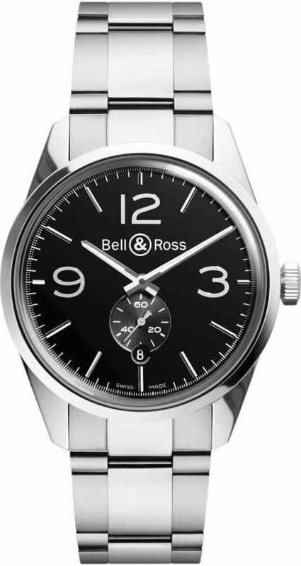 Bell & Ross BR 123 OFFICER BRG123-BL-ST-SST