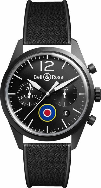 Bell & Ross BR 126 Insignia UK BRV126-BL-CA-CO-UK
