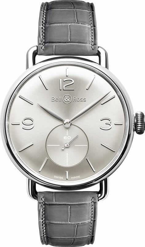 Bell & Ross WW1 ARGENTIUM SILVER BRWW1-ME-AG-SI-SCR