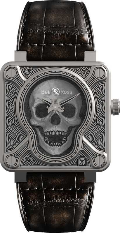 Bell & Ross BR 01-92 Burning Skull