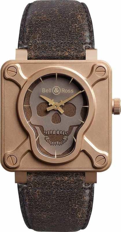 Bell & Ross BR 01 Skull Bronze BR0192-SKULL-BR