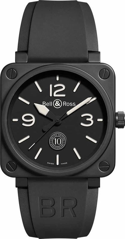 Bell & Ross BR 01-92 10th Anniversary BR-01-92-10TH-CE