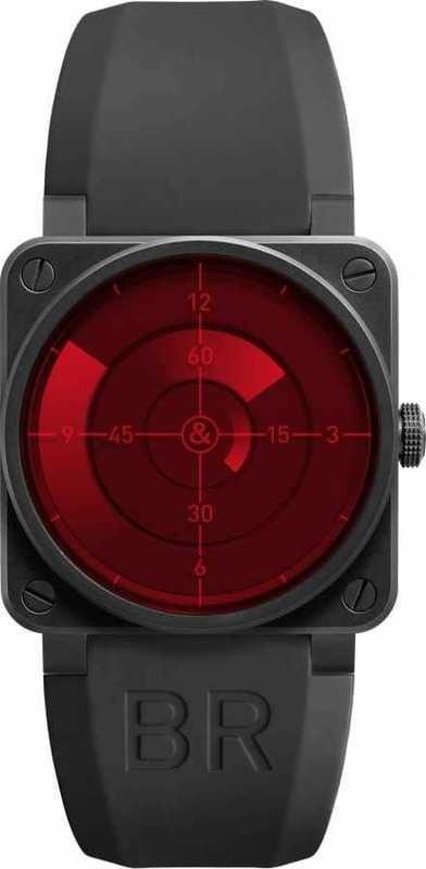 Bell & Ross BR01-92 Instrument Red Radar BR0192-REDRADAR