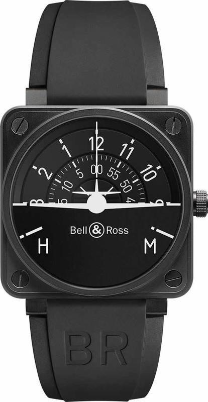 Bell & Ross Aviation BR 01 Turn Coordinator BR0192-TURNCOOR