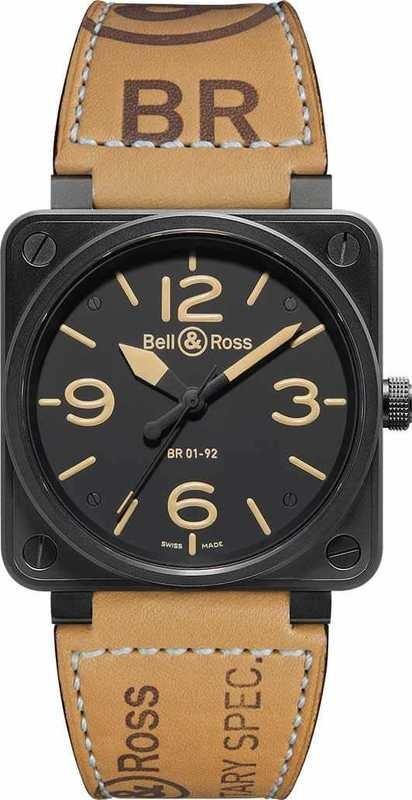 Bell & Ross BR01-92 Heritage Instrument BR0192-HERITAGE