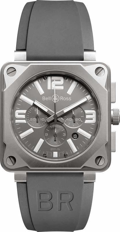 Bell & Ross BR01-94 Pro Titanium Grey Instrument BR0194-TI-PRO