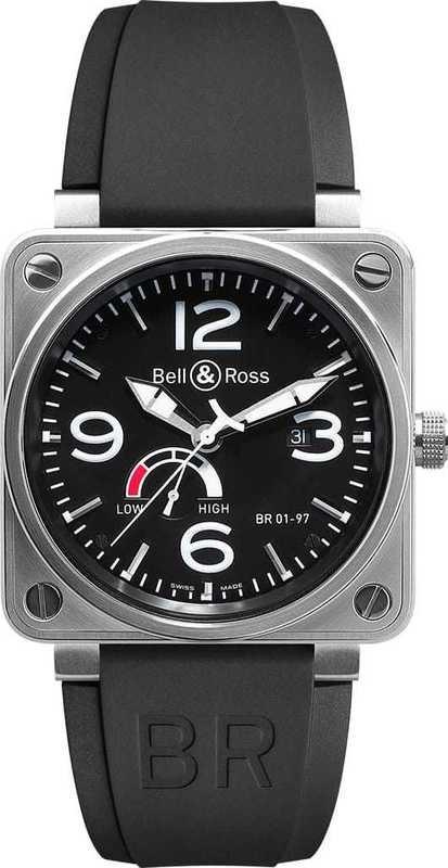 Bell & Ross BR01-97 Reserve de Marche BR0197-BL-ST