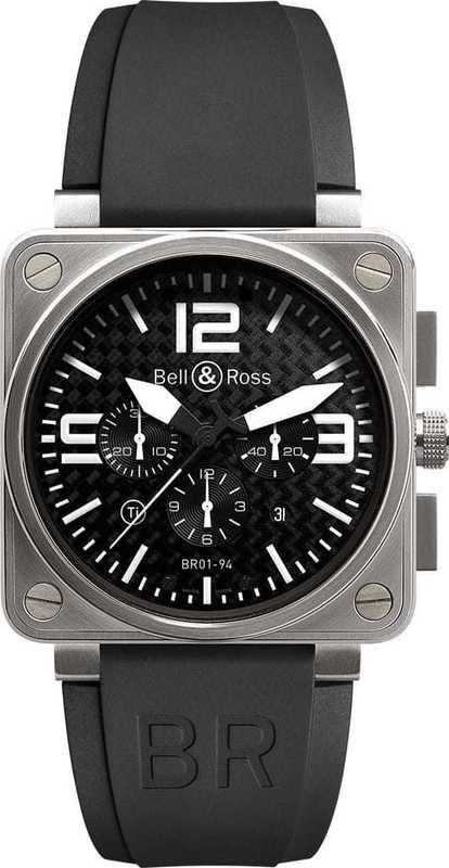 Bell & Ross BR01-94 Chronograph Titanium Ultralight BR0194-TITANIUM